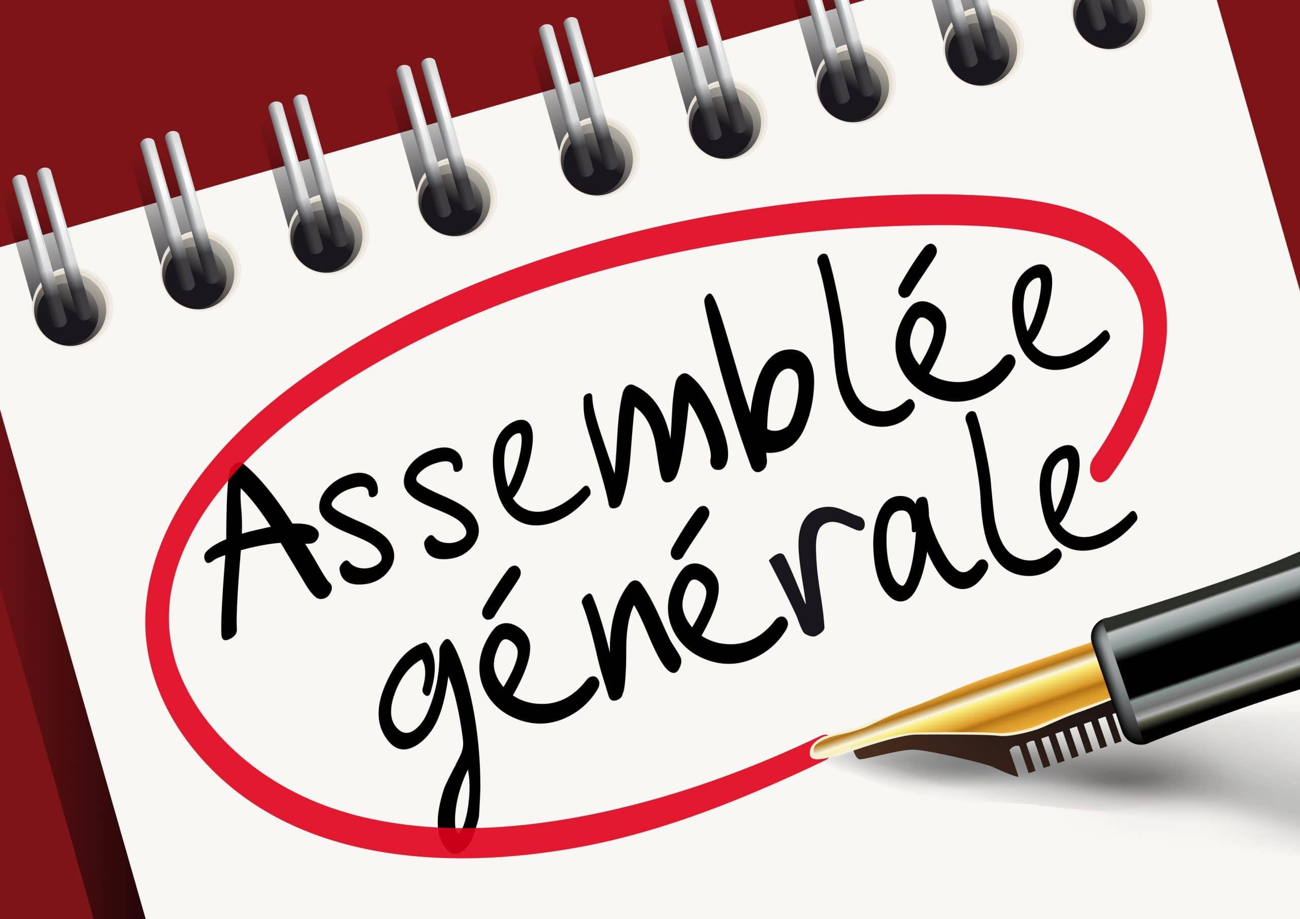 ASSEMBLEE GENERALE DU 28 OCTOBRE 2018